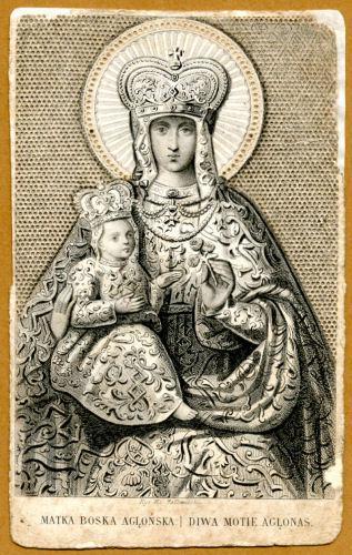 Agluonos stebuklingas Dievo Motinos paveikslas