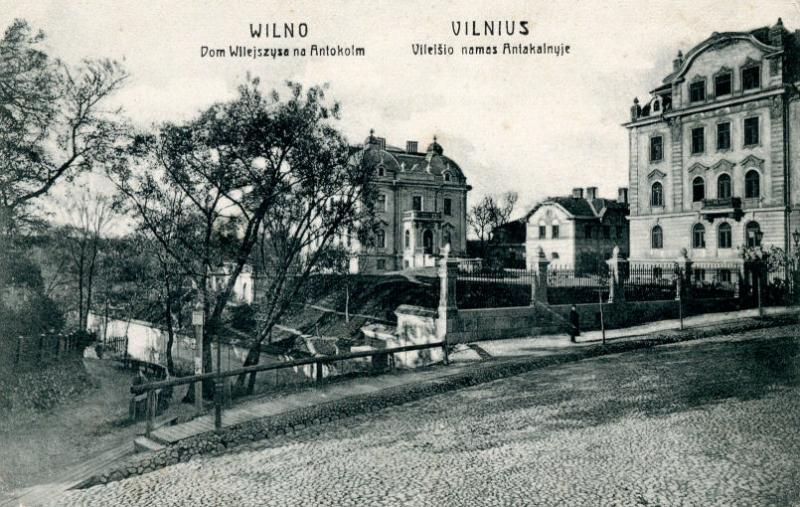 Vilnius. P. Vileišio namas Antakalnyje
