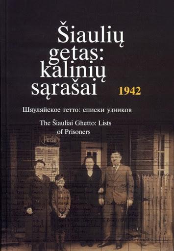 Šiaulių getas : kalinių sąrašai, 1942.