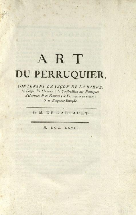 Garsault, François-Alexandre-Pierre de (1693–1778).
