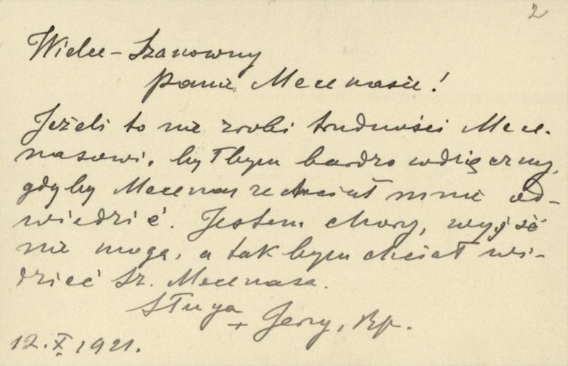 Vyskupo Jurgio Matulevičiaus laiškučiai Tadui Vrublevskiui