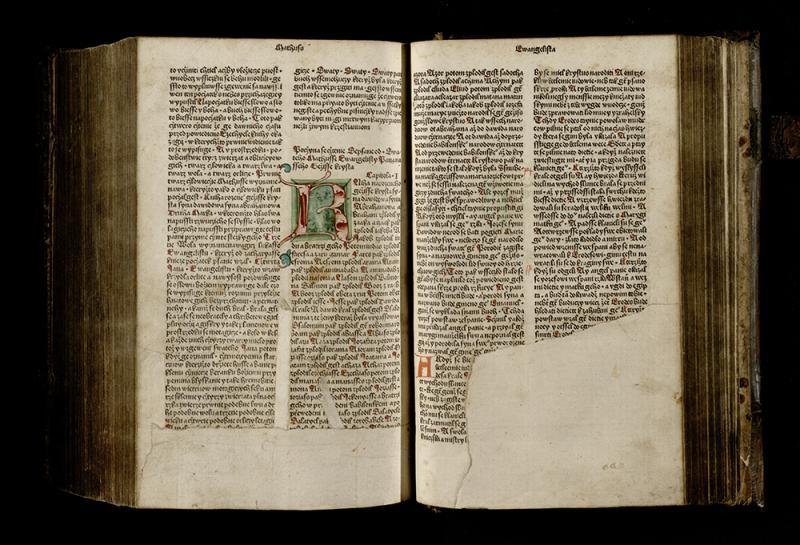 Biblia Bohemica. Praha: [Jan Kamp], 1488 08.