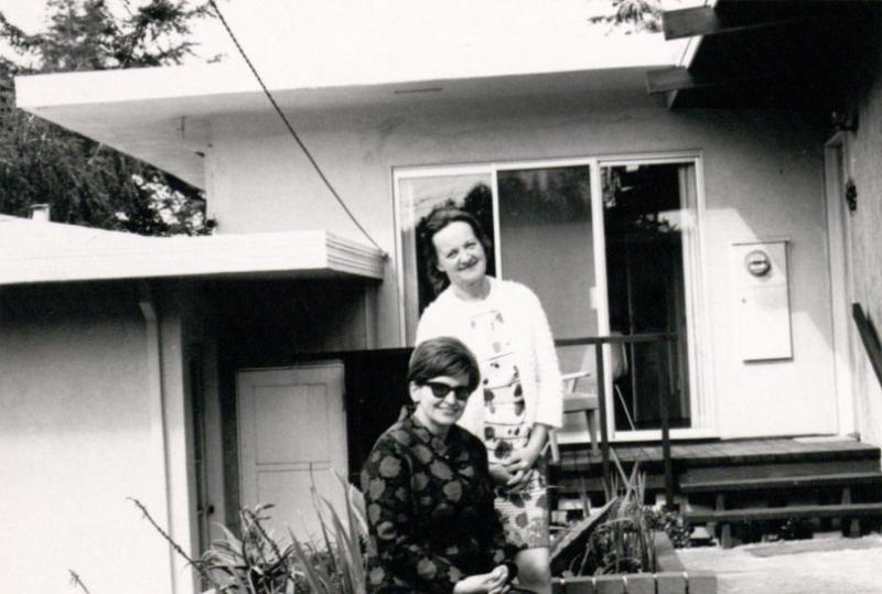 Marija Gimbutienė ir Alė Rūta