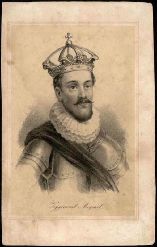 Lietuvos didysis kunigaikštis, Lenkijos karalius Žygimantas Augustas (1520–1572).