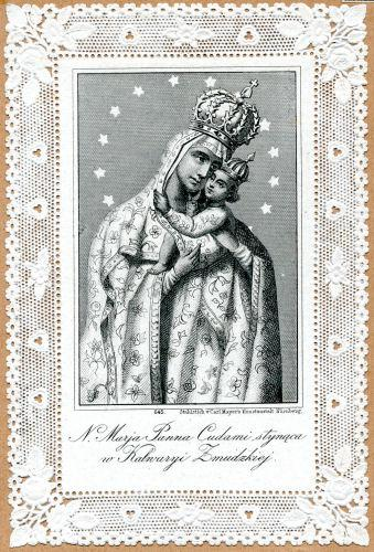 Žemaičių Kalvarijos stebuklingas Švč. Mergelės Marijos paveikslas