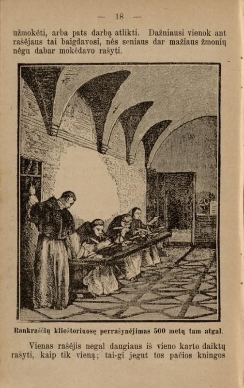 Vileišis, Petras. Apie Joną Gutenbergą ir apie tai, kaip žmonės rašyti ir spausti išmoka