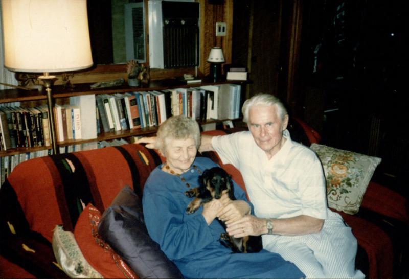 Marija Gimbutienė ir Edmundas Arbas