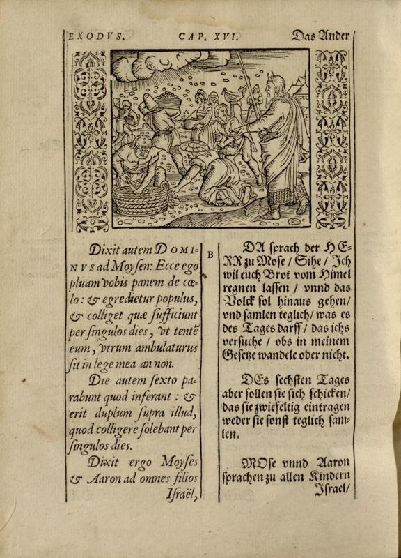 Biblia Germanico–latina. Zu Witteberg, 1574.