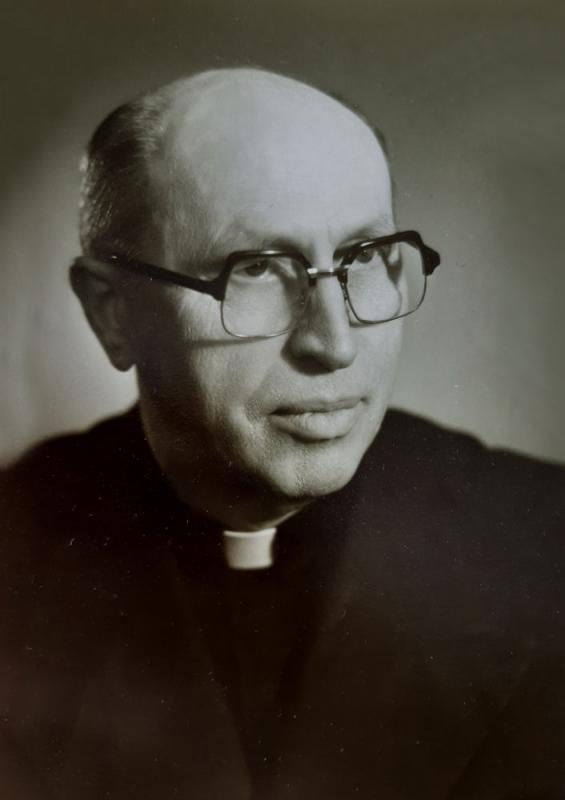 Kun. Vaclovas Aliulis. 1986 m. kovo 14 d.