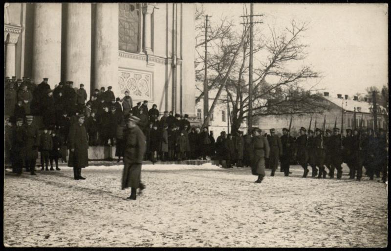 Kauno komendantūros šventė 1920 m.