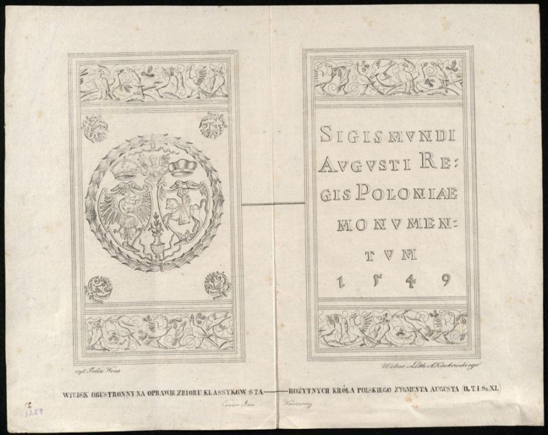 Lietuvos didžiojo kunigaiščio, Lenkijos karaliaus Žygimanto Augusto bibliotekos signetas