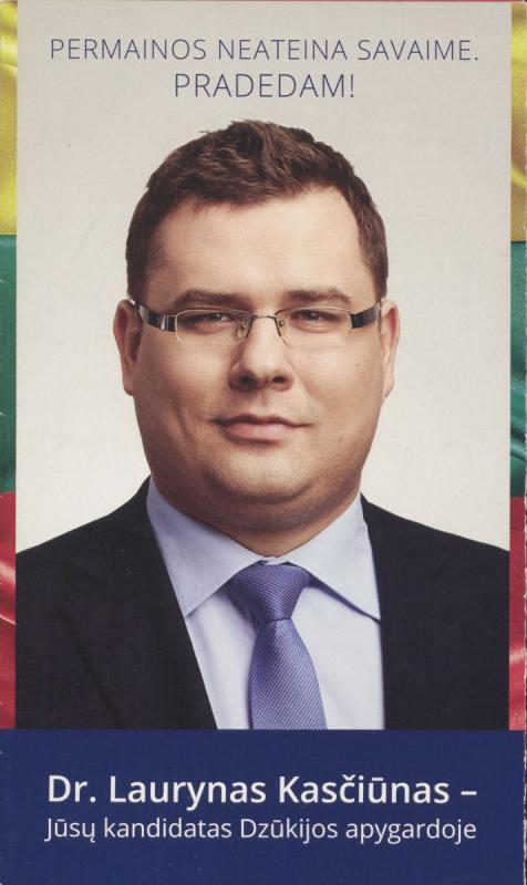 Laurynas Kasčiūnas. TS – LKD
