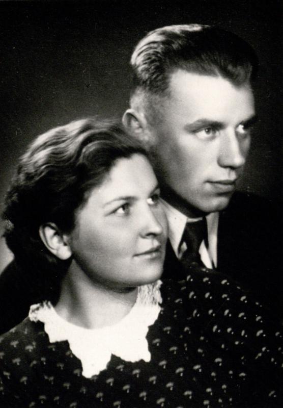Sutuoktiniai Marija ir Jurgis Gimbutai