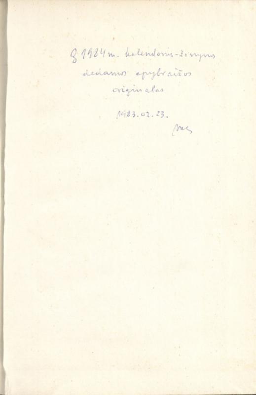 Šventasis Kazimieras: konferencijos Jo 500 metų Jubiliejaus belaukiant. [S. l., 1984]. 55 lap.