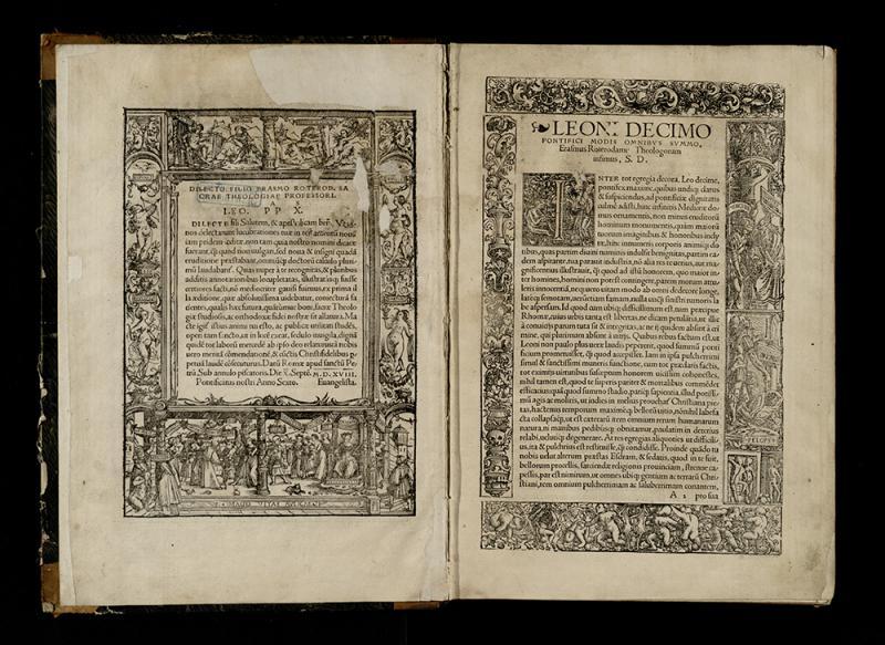 Novum Testamentum omne, tertio iam ac diligentius ab Erasmo Roterodamo recognitum ... Basileae: in aedibus Jo. Frobenii, 1522.