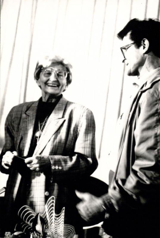 Marija Gimbutienė ir Norbertas Vėlius