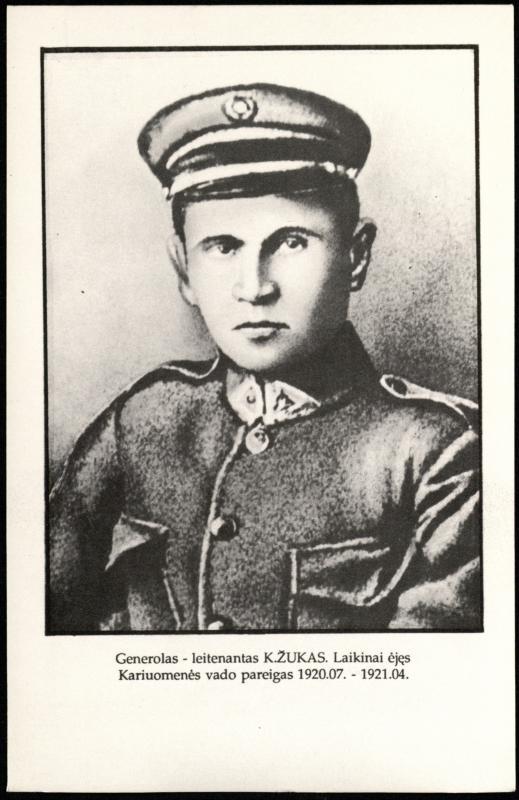 Gen. Konstantinas Žukas (1884–1962)