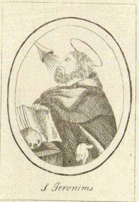 Stanislovas Čerskis. Šv. Jeronimas. XIX a. pr.
