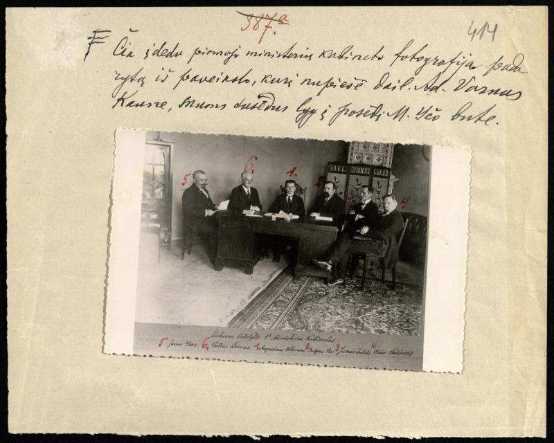 Pirmasis Ministrų kabinetas
