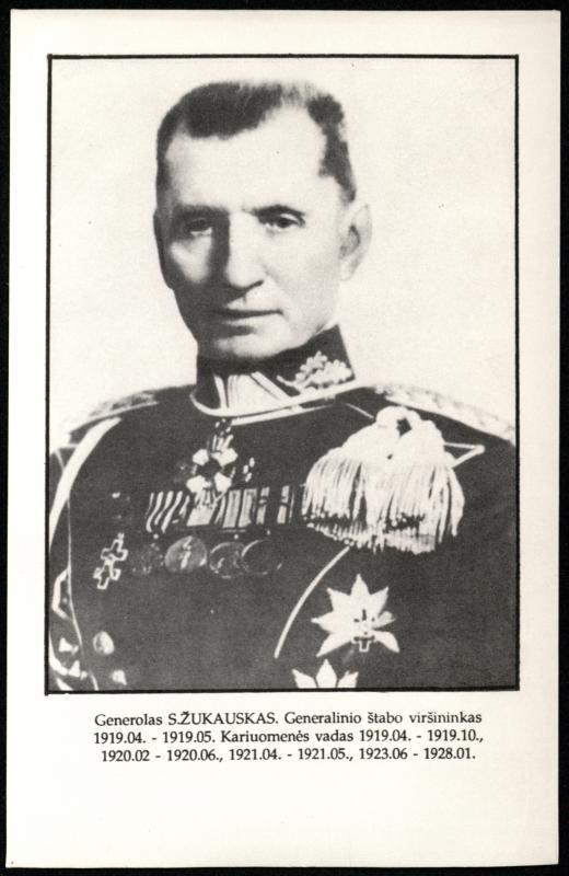 Gen. Silvestras Žukauskas (1860–1937).