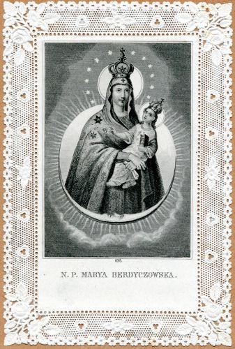 Berdyčivo stebuklingas Švč. Mergelės Marijos atvaizdas
