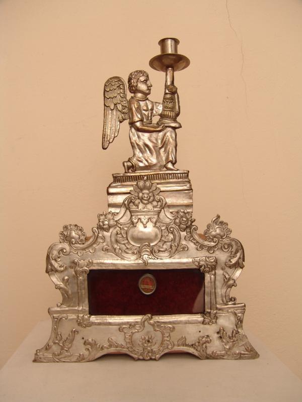 Relikvijorius su šv. Jeronimo relikvija, XVIII a.