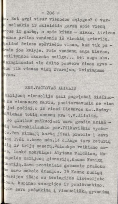 Misiūnas, Hiliaras. Marijonų vienuolija Lietuvoje. [S. l.], 1986. 253 lap.