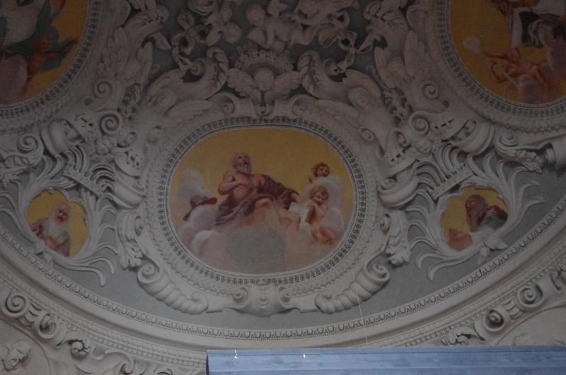 M. Palonis. Pažaislio vienuolyno bažnyčios presbiterijos kupolo freska XVII a. 8–9 deš.