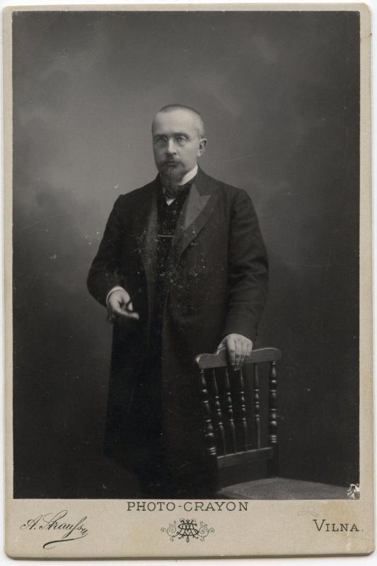 Tadas Vrublevskis. Fotografas Aleksandr Strauss