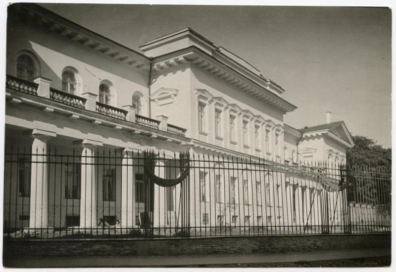 Vilniaus vyskupų rūmai. Fotografas Jan Bułhak