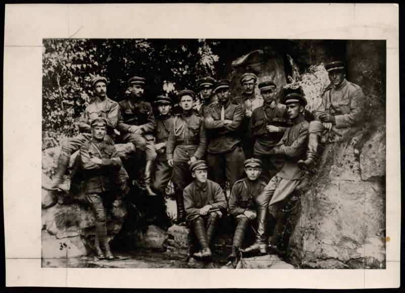 5-ojo pėstininkų Kęstučio pulko karininkai