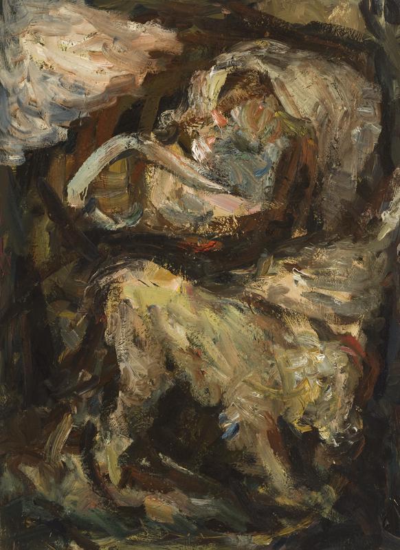 Šv. Jeronimas. 2007, drobė, aliejus, 150 x 110 cm