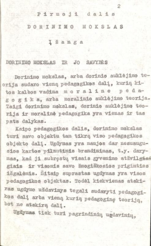 Šalkauskis, Stasys. Dorinis, estetinis ir religinis auklėjimas. [S. l.], 1927. 256 lap.