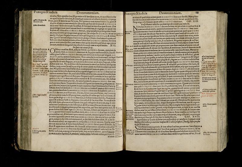 Biblia Sacrocancta. Tiguri: excudebat Christoph. Froschoverus, 1550.