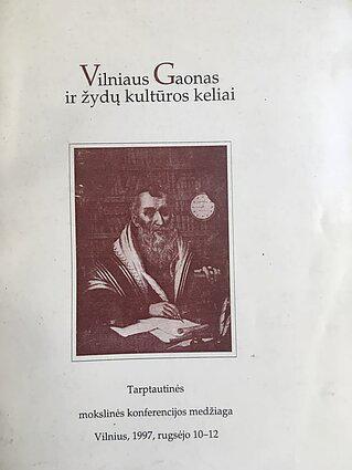 Vilniaus Gaonas ir žydų kultūros keliai.