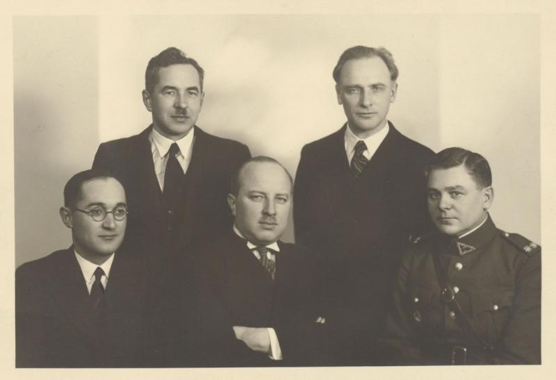 Antrosios kadencijos (1934–1936) XXVII knygos mėgėjų valdyba. Kaunas, 1936 m. kovo 4 d.