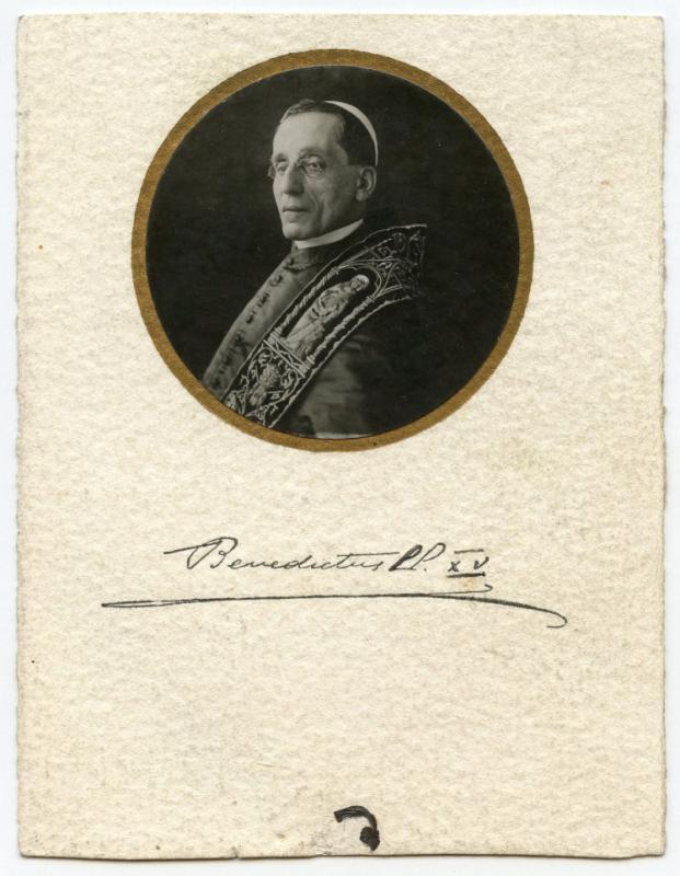 Popiežius Benediktas XV