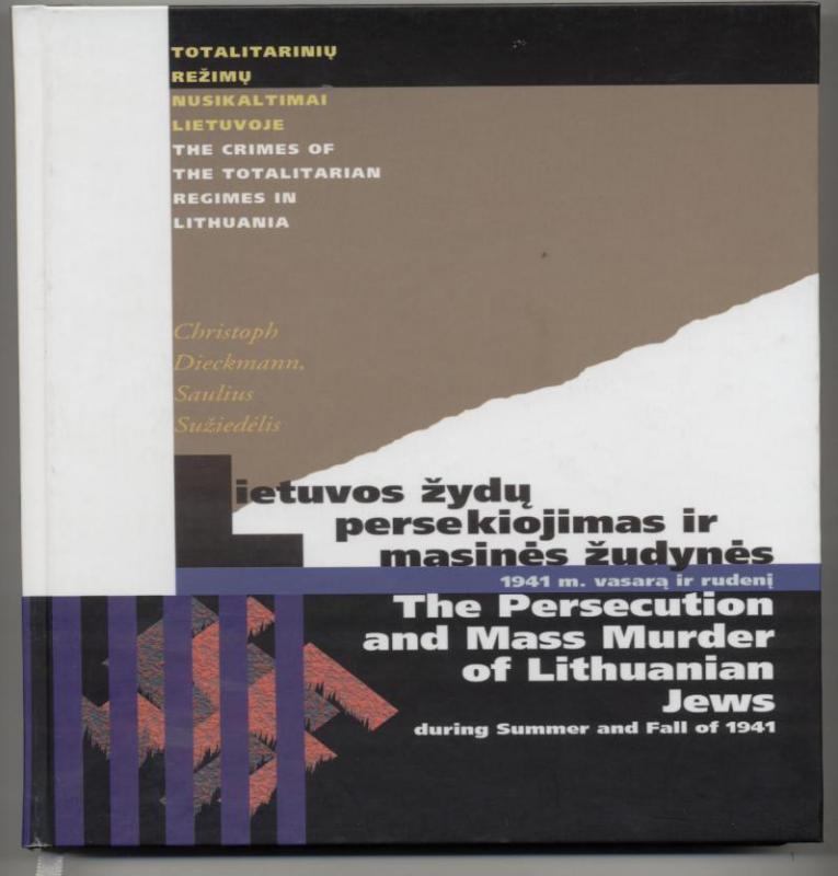 Lietuvos žydų persekiojimas ir masinės žudynės 1941 m. vasarą ir rudenį.