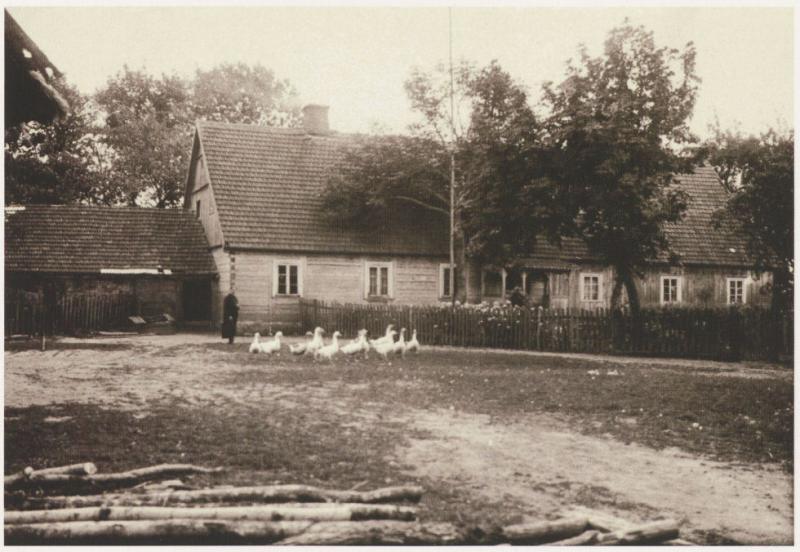 Palaimintojo Jurgio Matulaičio gimtasis namas Lūginės kaime, Marijampolės apskr.