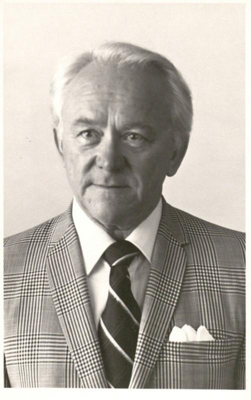Kazys Ėringis. Hamiltonas, Kanada, 1983 m. Miltenio nuotrauka.