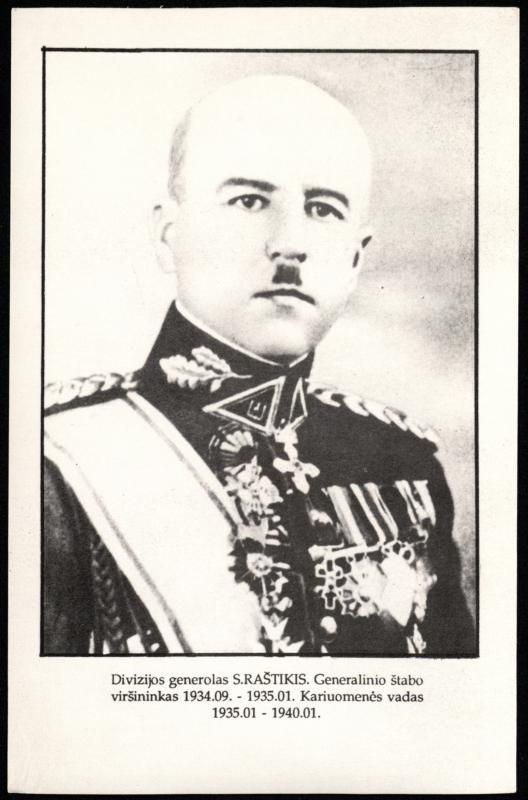 Gen. Stasys Raštikis (1896–1985)