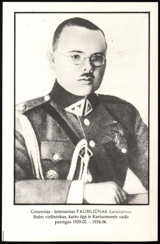 Gen. Ltn. Petras Kubiliūnas (1894–1946)