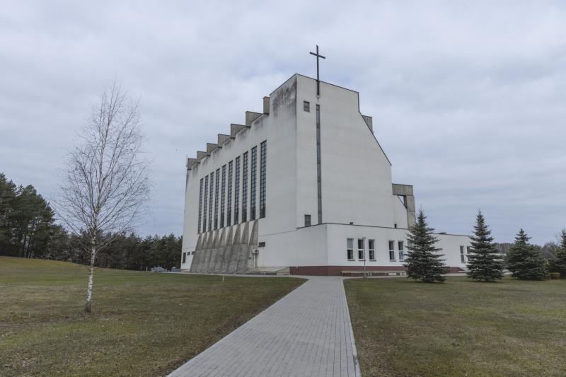 Vilniaus Palaimintojo Jurgio Matulaičio bažnyčia. Fotografė Vykintė Petrikaitė