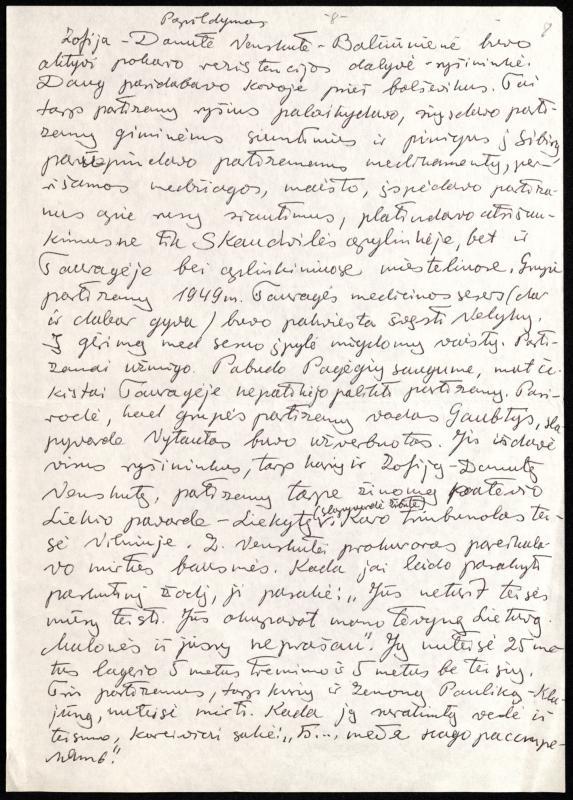 Ryšininkės Zofijos Danutės Venskutės-Balčiūnienės-Žibutės biografija