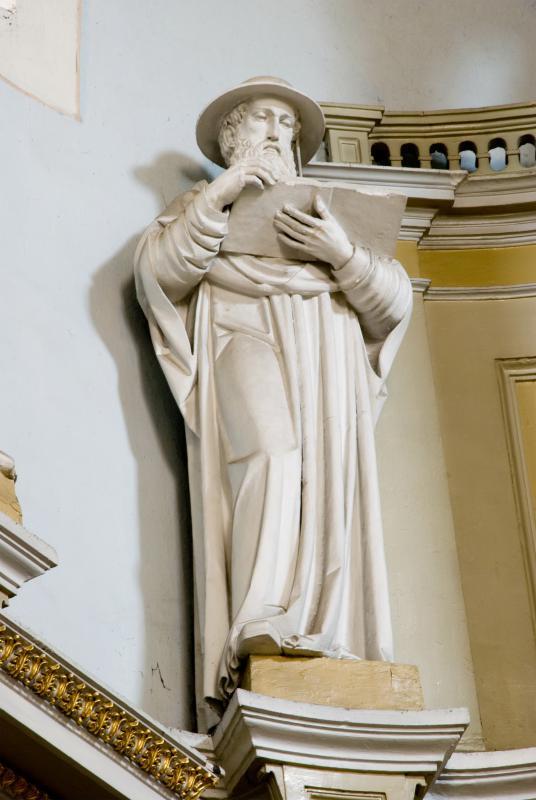 """Skulptūra """"Šv. Jeronimas"""". XX a. pr."""