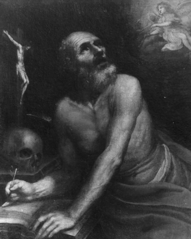 "Paveikslas ""Šv. Jeronimo vizija"", XIX a. I p."