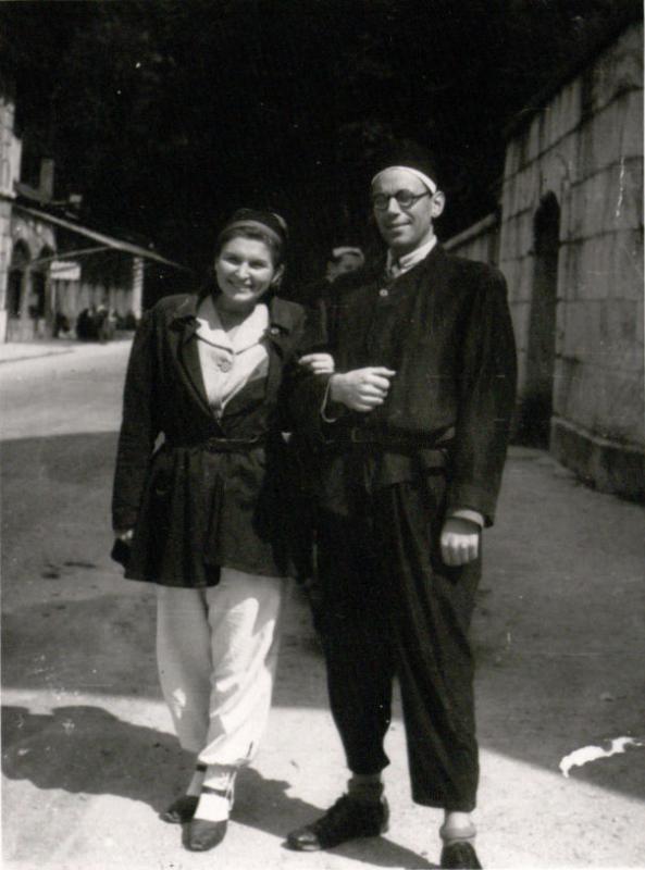M. ir J. Gimbutai iškylauja druskos kasyklose