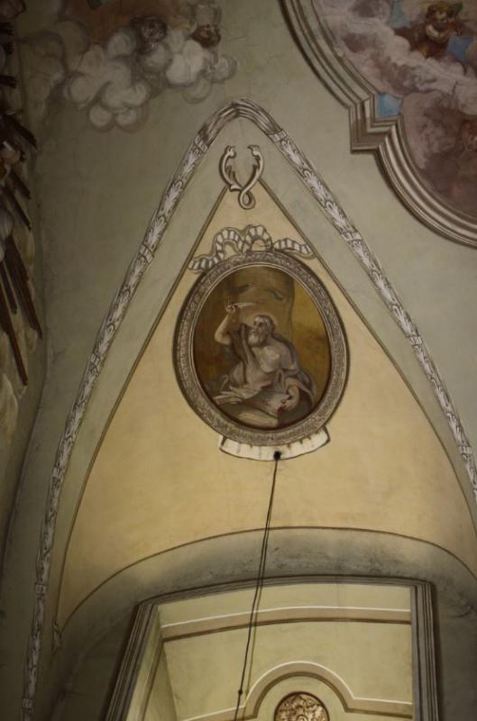 Šv. Jeronimas. Liunetės tapybos kompozicija, XVIII a. II p.