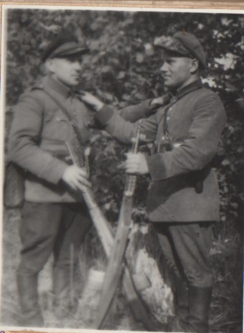 Stasys Banilis-Smidras ir Steponas Vaišvila-Uodas