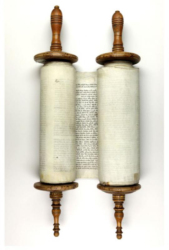 Toros – Senojo Testamento Penkiaknygės – ritinys.